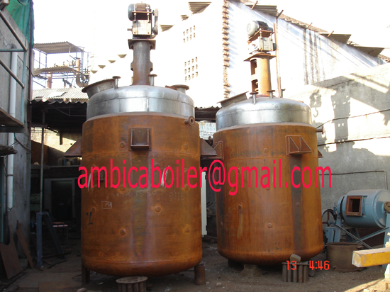 Jacketed Chemical Vessel