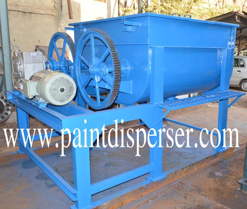 pug mill for paint industry